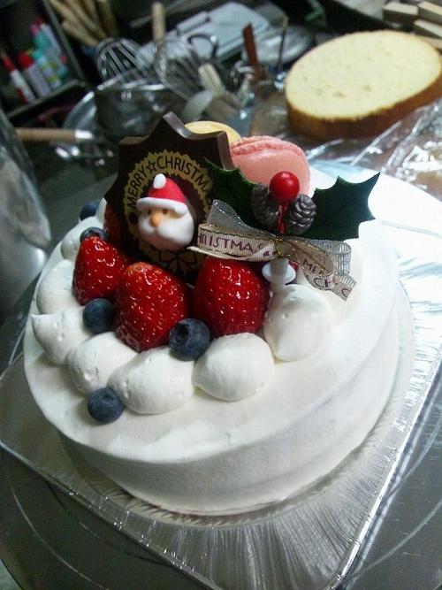 クリスマスケーキ布善