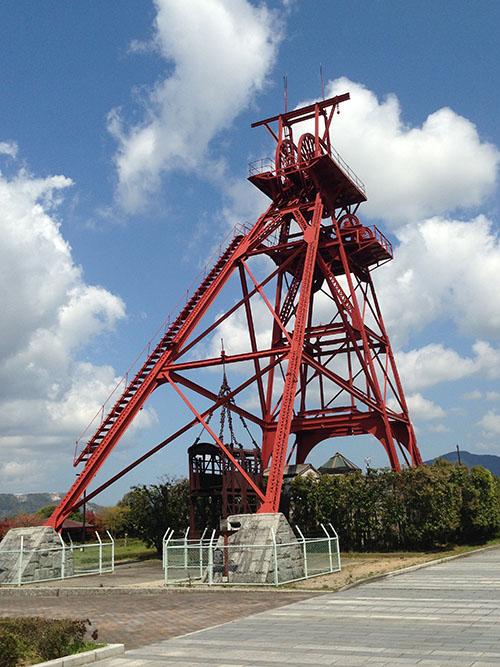 田川市石炭・歴史博物館。