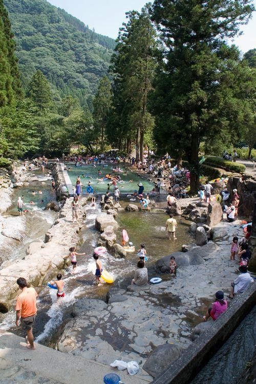 小野川自然プール