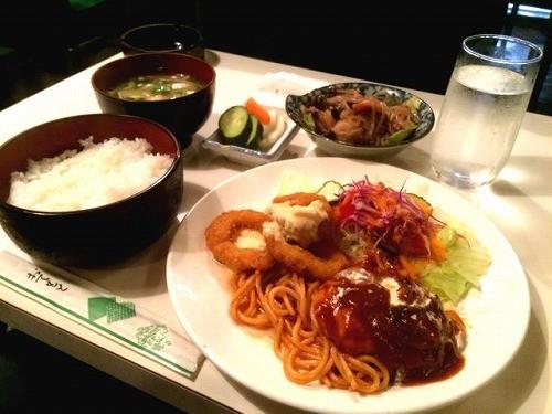 ローマ定食 / 580円 (非常に安い!)