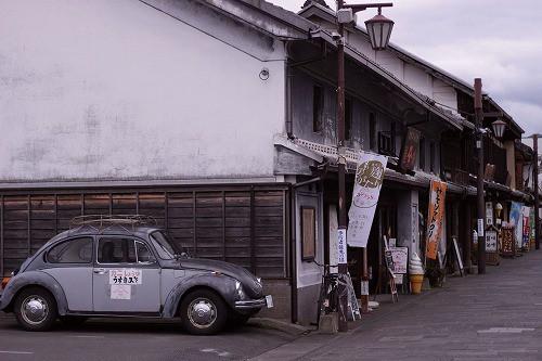 臼杵市の一角。時代を超えた町並みがここにもありました。