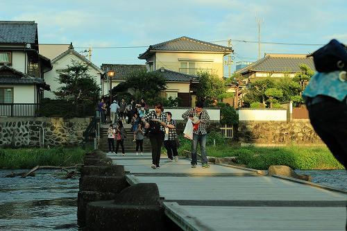 豆田町の後は、亀山公園周辺を散歩。夕焼け前でかなり気持ちよかったです。