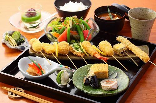 ミニ串定食 / 1,200円