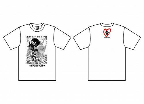 熊本地震復興支援Tシャツ