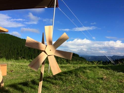 「おひさまとかぜ」さんによる木工ワークショップ!