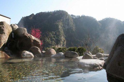 梅の香温泉なごりの湯での露天風呂!!